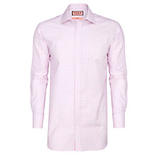 Buy Thomas Pink Ballarne Check Shirt, Pink/White Online at johnlewis.com