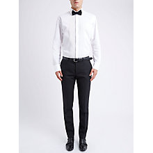 Buy Ben Sherman Tailoring Camden Fit Prince of Wales Suit Trousers, Black Online at johnlewis.com