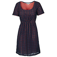 Buy Fat Face Henfield Broderie Shift Dress Online at johnlewis.com