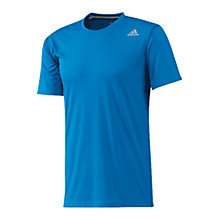 Buy Adidas Prime T-Shirt, Solar Blue Online at johnlewis.com