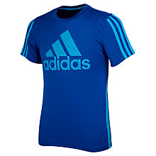 Buy Adidas Clima Logo Boys' T-Shirt Online at johnlewis.com