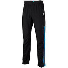 Buy Adidas Clima Training Trousers, Black/Blue Online at johnlewis.com