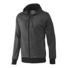 Buy Adidas Prime Full Zip Hoodie, Grey Online at johnlewis.com