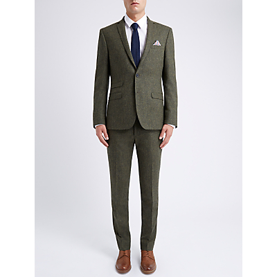 Ben Sherman Tailoring Slim Fit British Tweed Suit Jacket