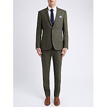 Buy Ben Sherman Tailoring Slim Fit British Tweed Suit Jacket Online at johnlewis.com