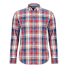 Buy Tommy Hilfiger Tisbury Check Long Sleeve Shirt, Dutch Navy- Eur Online at johnlewis.com