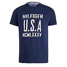 Buy Tommy Hilfiger Axel Cotton T-Shirt Online at johnlewis.com