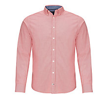 Buy Tommy Hilfiger Crosby Dobby Long Sleeve Shirt, Barbados Cherry Online at johnlewis.com