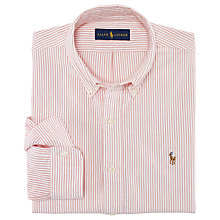 Buy Polo Ralph Lauren Bengal Stripe Shirt Online at johnlewis.com