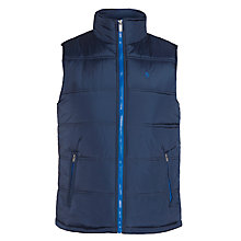 Buy Original Penguin Tough Padded Gilet, Dress Blues Online at johnlewis.com