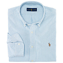Buy Polo Ralph Lauren Stripe Slim Fit Oxford Shirt Online at johnlewis.com