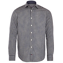 Buy Tommy Hilfiger Parker Check Slim Fit Shirt, Blue/Grey Online at johnlewis.com