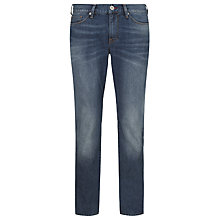 Buy Tommy Hilfiger Hudson Straight Leg Jeans, Wash Blue Online at johnlewis.com
