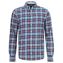 Buy Tommy Hilfiger Sasha Check Long Sleeve Shirt, Dutch Navy Online at johnlewis.com
