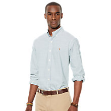 Buy Polo Ralph Lauren Oxford Check Shirt Online at johnlewis.com