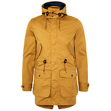 Buy Original Penguin Hatch Cotton Blend Parka, Tan Online at johnlewis.com