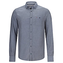 Buy Tommy Hilfiger Keydan Long Sleeve Shirt, Shirt Blue Online at johnlewis.com