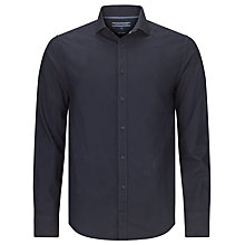 Buy Tommy Hilfiger Hampton Oxford Long Sleeve Shirt, Navy Blazer Online at johnlewis.com