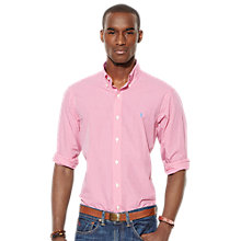 Buy Polo Ralph Lauren Slim Fit Gingham Poplin Shirt Online at johnlewis.com
