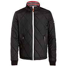 Buy Hilfiger Denim Naldo Nylon Jacket, Black Online at johnlewis.com