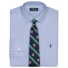 Buy Polo Ralph Lauren Custom Fit Stripe Poplin Shirt Online at johnlewis.com