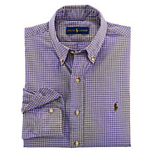 Buy Polo Ralph Lauren Check Twill Sport Shirt Online at johnlewis.com