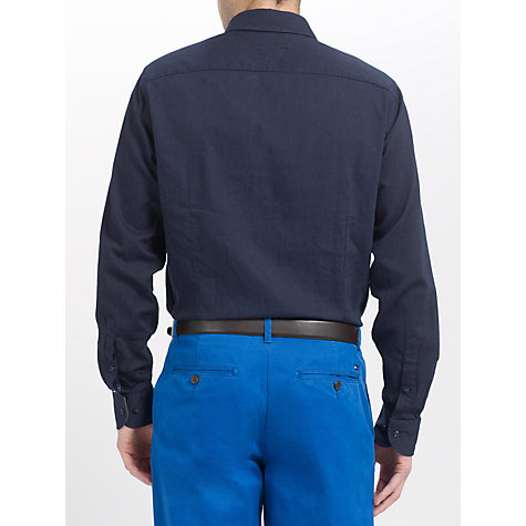 Buy Tommy Hilfiger Ramone Long Sleeve Shirt, Navy Blazer Online at johnlewis.com