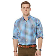 Buy Polo Ralph Lauren Long Sleeve Slim Oxford Shirt, Multi Online at johnlewis.com