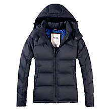 Buy Hilfiger Denim Nebraska Down Filled Coat, Tommy Black Online at johnlewis.com