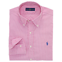 Buy Polo Ralph Lauren Custom Fit Stripe Shirt Online at johnlewis.com