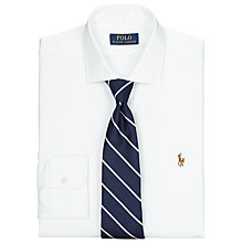Buy Polo Ralph Lauren Custom Fit Estate Dress Shirt, White Online at johnlewis.com