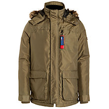 Buy Hilfiger Denim Donovan Jacket, Olive Night Online at johnlewis.com
