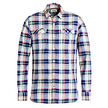 Buy Hilfiger Denim Orlean Check Shirt, Lilac Rose Online at johnlewis.com