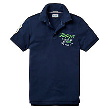 Buy Hilfiger Denim Pilot Logo Print Polo Shirt Online at johnlewis.com