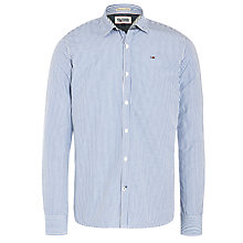 Buy Hilfiger Denim Thomas Stripe Shirt, Cerulean Blue Online at johnlewis.com