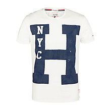 Buy Tommy Hilfiger Manhattan Crew Neck T-Shirt Online at johnlewis.com