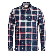 Buy Hilfiger Denim Osmond Check Shirt, Black Iris Online at johnlewis.com
