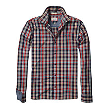 Buy Hilfiger Denim Omaha Check Long Sleeve Shirt Online at johnlewis.com