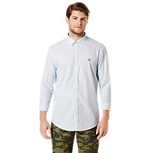 Buy Original Penguin Striped Shirt, Blue Online at johnlewis.com