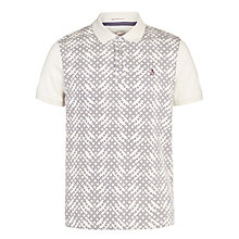 Buy Original Penguin Nagem Polo Shirt, Oatmeal Online at johnlewis.com