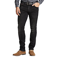 Buy Hilfiger Denim Scanton Slim Jeans, Black Online at johnlewis.com