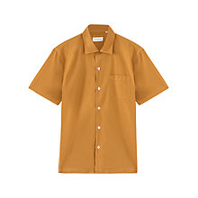Buy Jigsaw Fine Poplin Cotton Short Sleeve Shirt Online at johnlewis.com