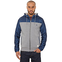 Buy Original Penguin Packford Hooded Jacket, Rain Heather Online at johnlewis.com