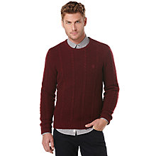 Buy Original Penguin Cable Knit Lambswool Jumper Online at johnlewis.com