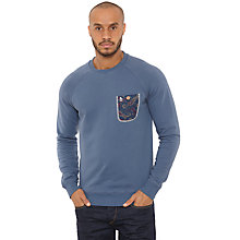 Buy Original Penguin Paisley Pocket Sweatshirt Online at johnlewis.com
