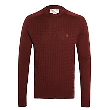 Buy Original Penguin Marley Merino Crew Neck Jumper Online at johnlewis.com