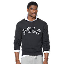 Buy Polo Ralph Lauren Logo Sweatshirt Online at johnlewis.com