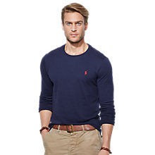Buy Polo Ralph Lauren Classic Cotton Jersey Top Online at johnlewis.com