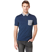 Buy Original Penguin Raga Polo Shirt, Dress Blues Online at johnlewis.com
