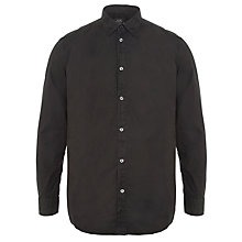 Buy Diesel Sarsen Cotton Long Sleeve Shirt, Black Online at johnlewis.com